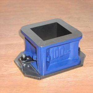 Cube Mould 100mm 2-Part