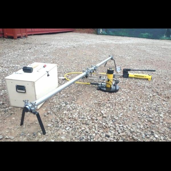 Plate Bearing Capacity Apparatus